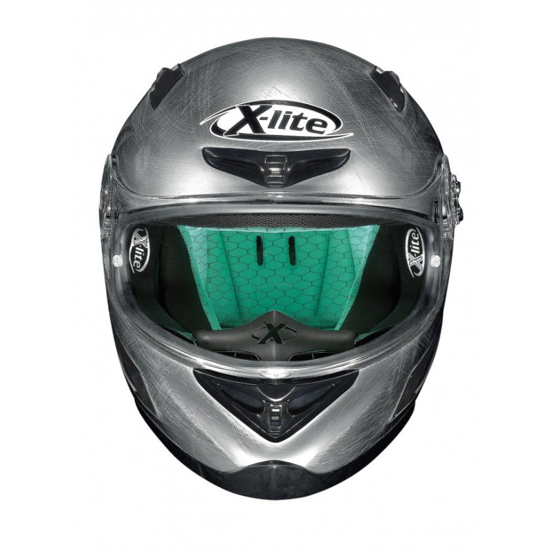 Capacete X-Lite X-802RR Start Scratched Chrome   - Super Bike - Loja Oficial Alpinestars