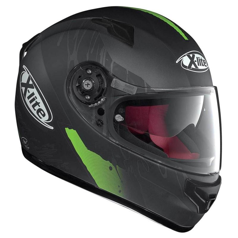 Capacete X-LITE X-661 Spox Green (Tri-Composto + Viseira Interna) com Vídeo  - Super Bike - Loja Oficial Alpinestars