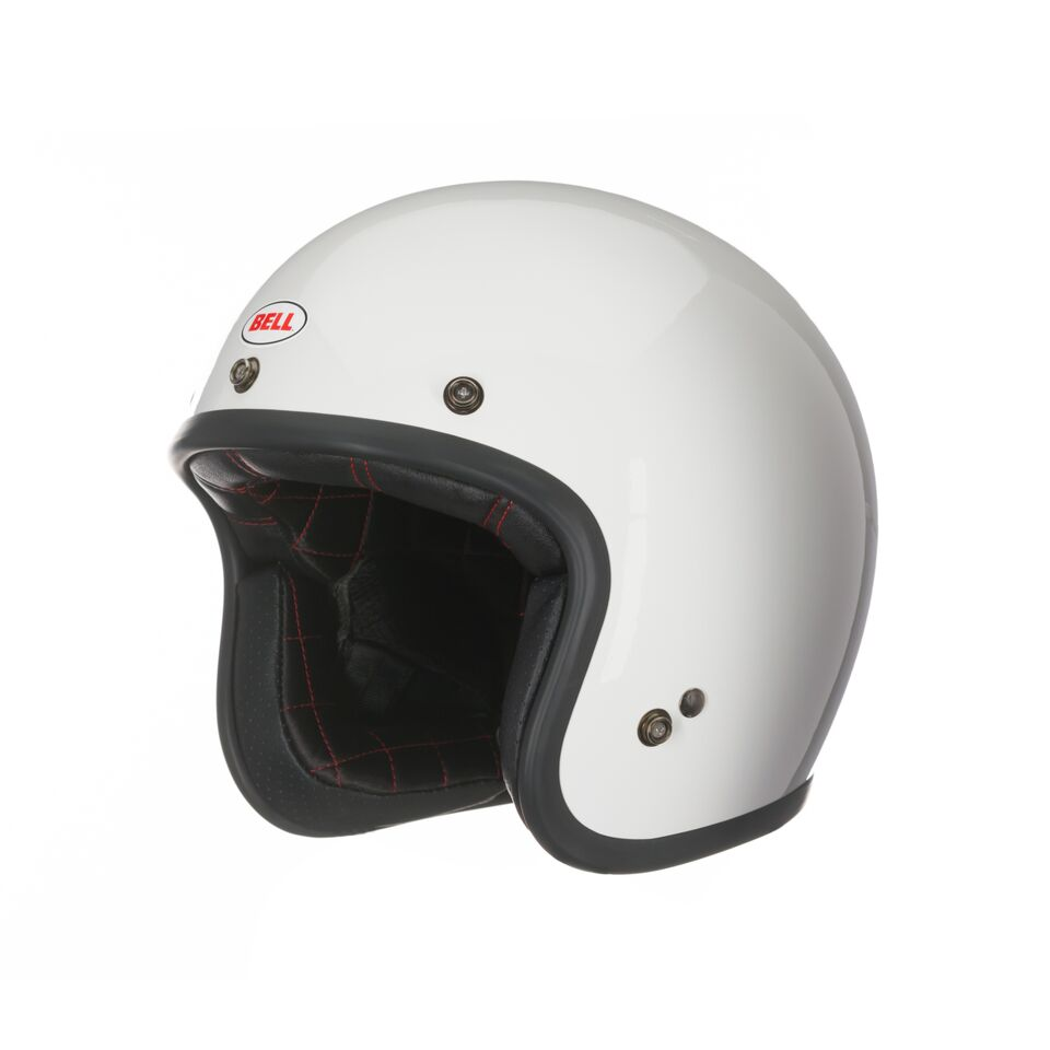 Capacete Bell Custom 500 Solid White - Super Bike - Loja Oficial Alpinestars