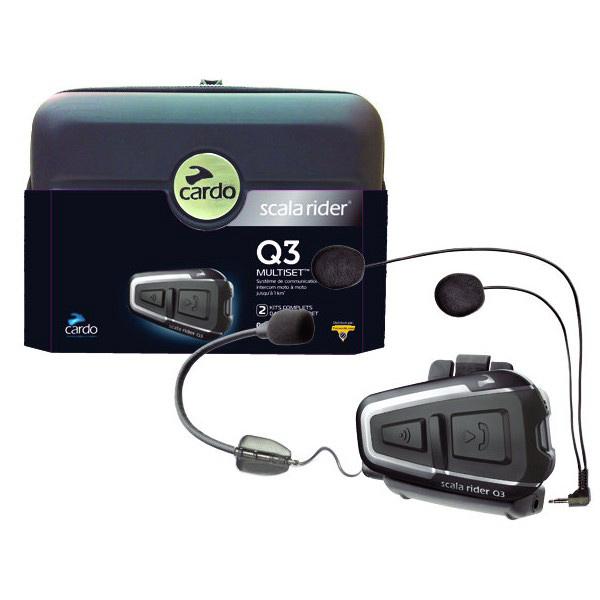 Intercomunicador Bluetooth Cardo Scala Rider Q3 Multiset NOVO!  - Super Bike - Loja Oficial Alpinestars