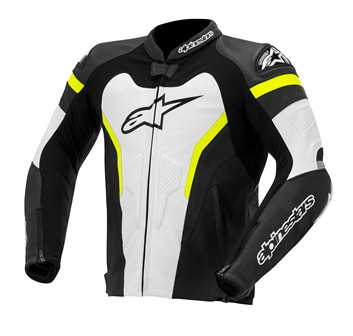 Jaqueta Alpienstars - GP Pró Nova!! (Black/White/Yellow Fluo)  - Super Bike - Loja Oficial Alpinestars