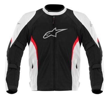 Jaqueta Alpinestars AST Air (Black/White/Red)  - Super Bike - Loja Oficial Alpinestars