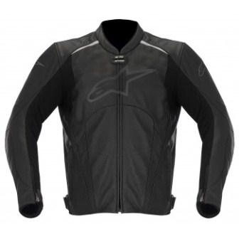 Jaqueta Alpinestars Avant Couro ( Black/ Sem Cupim) veterano  - Super Bike - Loja Oficial Alpinestars