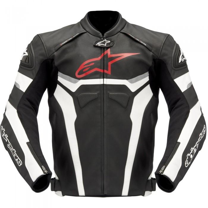 Jaqueta Alpinestars Celer Couro (Tricolor)  - Super Bike - Loja Oficial Alpinestars