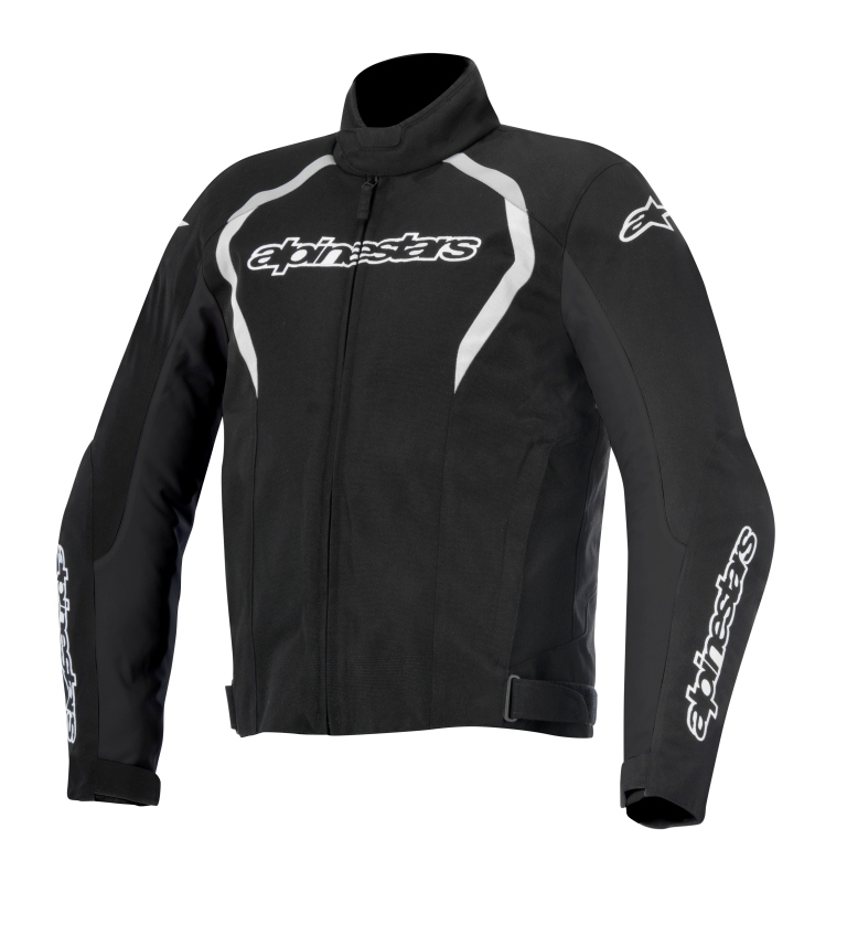 Jaqueta Alpinestars Fastback WP (Black and White/ Impermeável)  - Super Bike - Loja Oficial Alpinestars