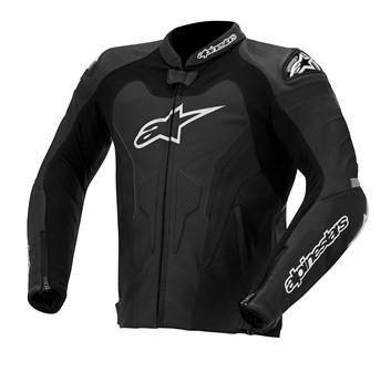 Jaqueta Alpinestars GP Pro Couro (Black)  - Super Bike - Loja Oficial Alpinestars