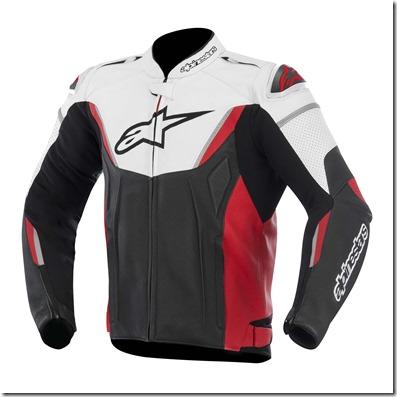 Jaqueta Alpinestars GP R Couro (Red)  - Super Bike - Loja Oficial Alpinestars