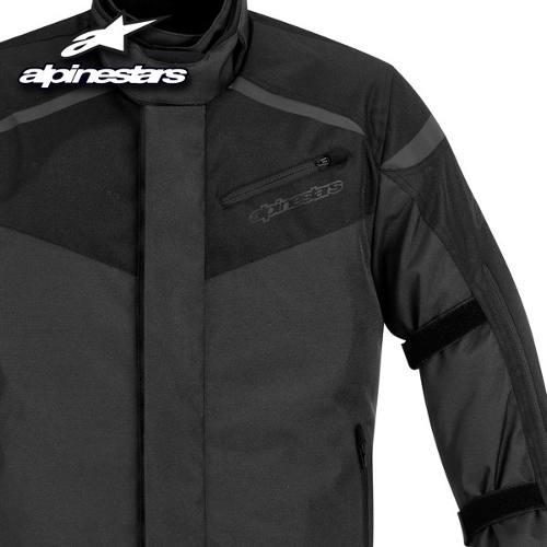 Jaqueta Alpinestars Lucerne Drystar (Black/ Impermeável e Respirável)  - Super Bike - Loja Oficial Alpinestars