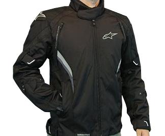 Jaqueta Alpinestars Megaton DRYSTAR® WP (Black/ 4 em 1)  - Super Bike - Loja Oficial Alpinestars