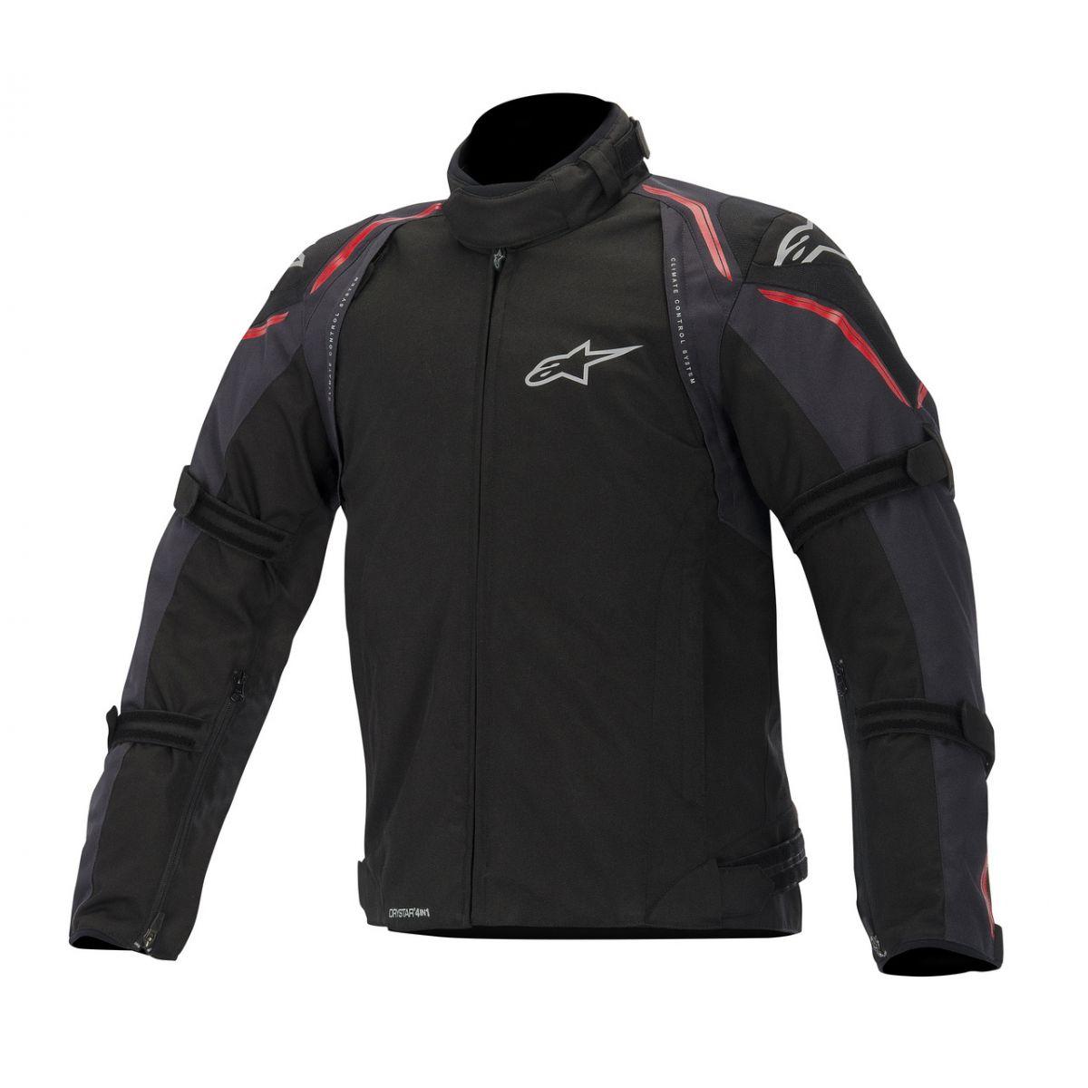 Jaqueta Alpinestars Megaton WP (Black Red/ 4 em 1)  - Super Bike - Loja Oficial Alpinestars