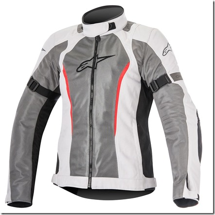 Jaqueta Alpinestars Stella Amok Air (cinza claro) Drystar Lançamento  - Super Bike - Loja Oficial Alpinestars