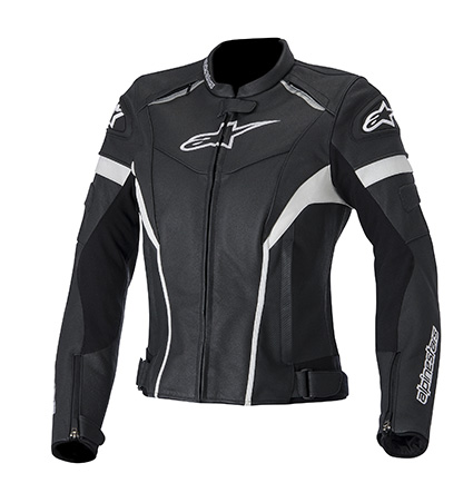 Jaqueta Alpinestars Stella GP Plus R Couro (Black/ Feminina)  - Super Bike - Loja Oficial Alpinestars
