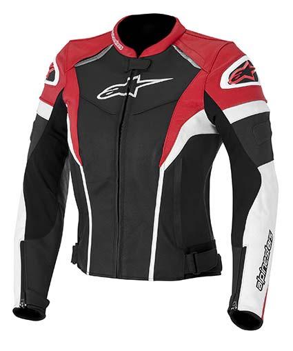 Jaqueta Alpinestars Stella GP Plus R Couro (Tricolor/ Feminina) (COMPRE JUNTO!)  - Super Bike - Loja Oficial Alpinestars