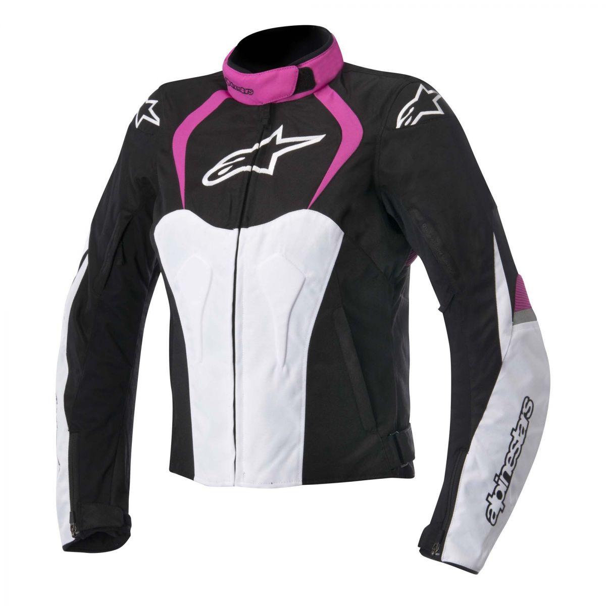 Jaqueta  Alpinestars Stella T-Jaws WP Rosa LANÇAMENTO!! (Feminina)  - Super Bike - Loja Oficial Alpinestars