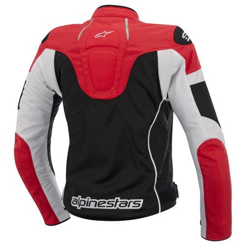 Jaqueta Alpinestars Stella T GP Plus R Air (Tricolor Vermelha/ Ventilada/ Feminina)  - Super Bike - Loja Oficial Alpinestars