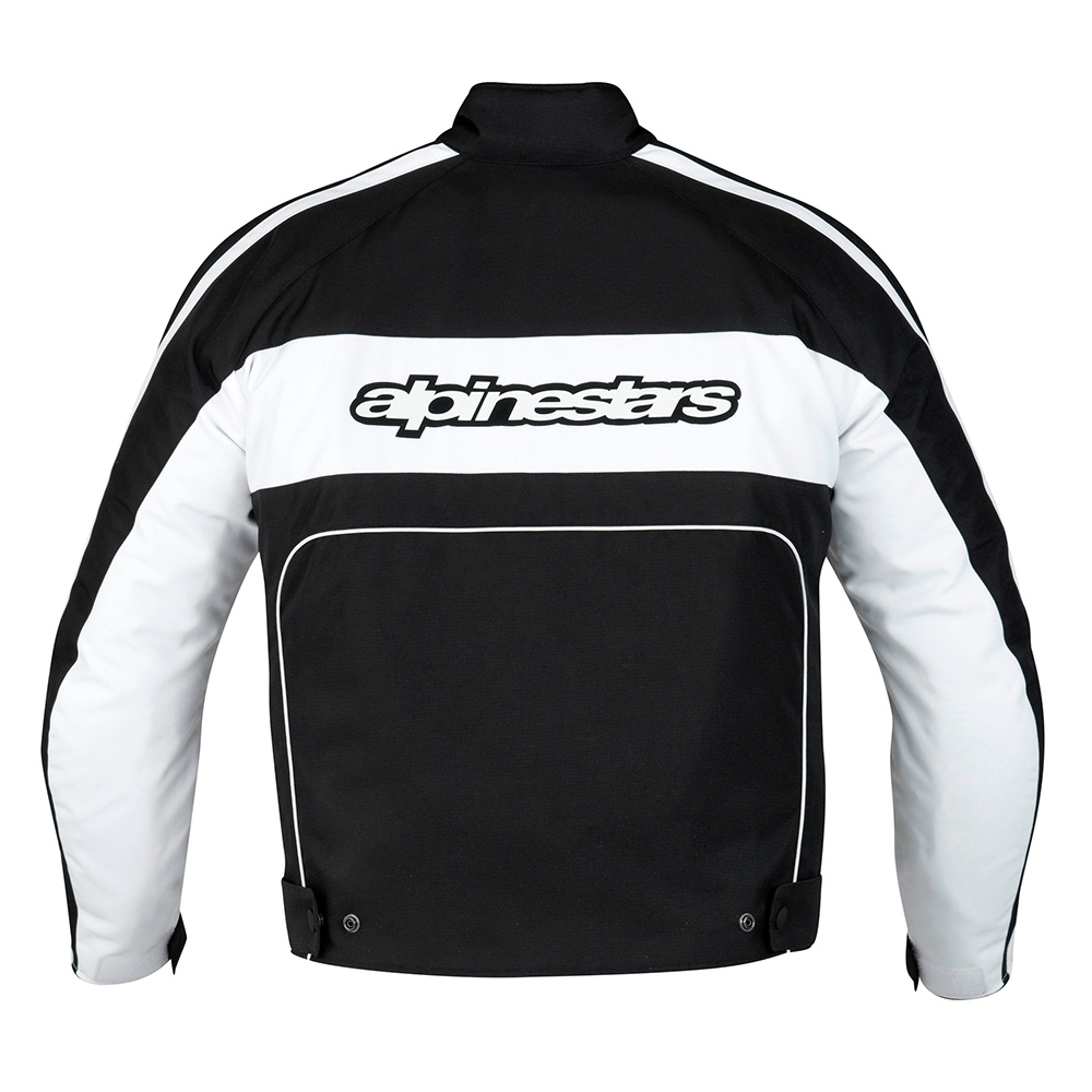 >> Jaqueta Alpinestars T-Dyno WP (Black White)  - Super Bike - Loja Oficial Alpinestars