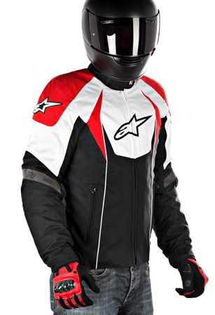 Jaqueta Alpinestars T GP Plus  (Black/ White/ Red)  - Super Bike - Loja Oficial Alpinestars