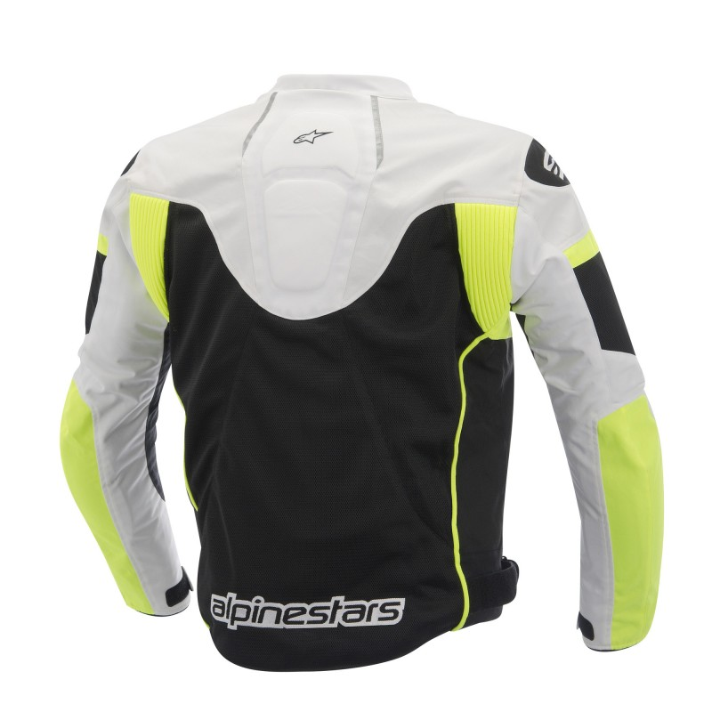 Jaqueta Alpinestars T GP Plus R Air ( Tricolor Amarelo Fluo/ Ventilada)  - Super Bike - Loja Oficial Alpinestars