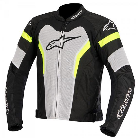 Jaqueta Alpinestars T GP Pro Air ( Tricolor Amarela/ Ventilada)  - Super Bike - Loja Oficial Alpinestars