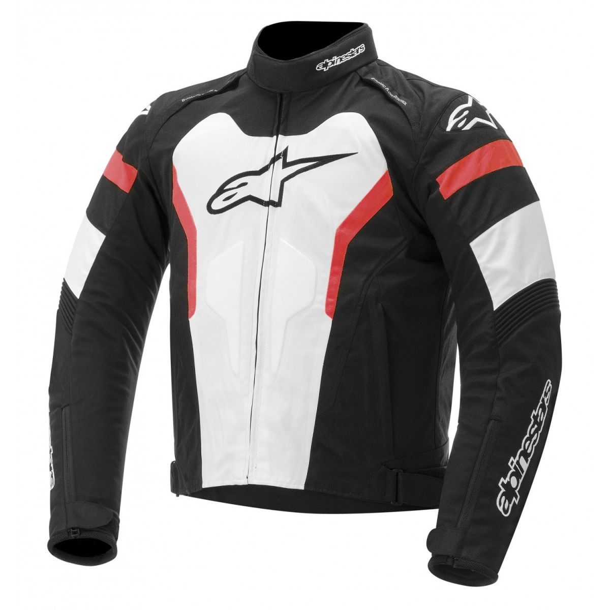 Jaqueta Alpinestars T GP Pro (Tricolor Vermelha)  - Super Bike - Loja Oficial Alpinestars