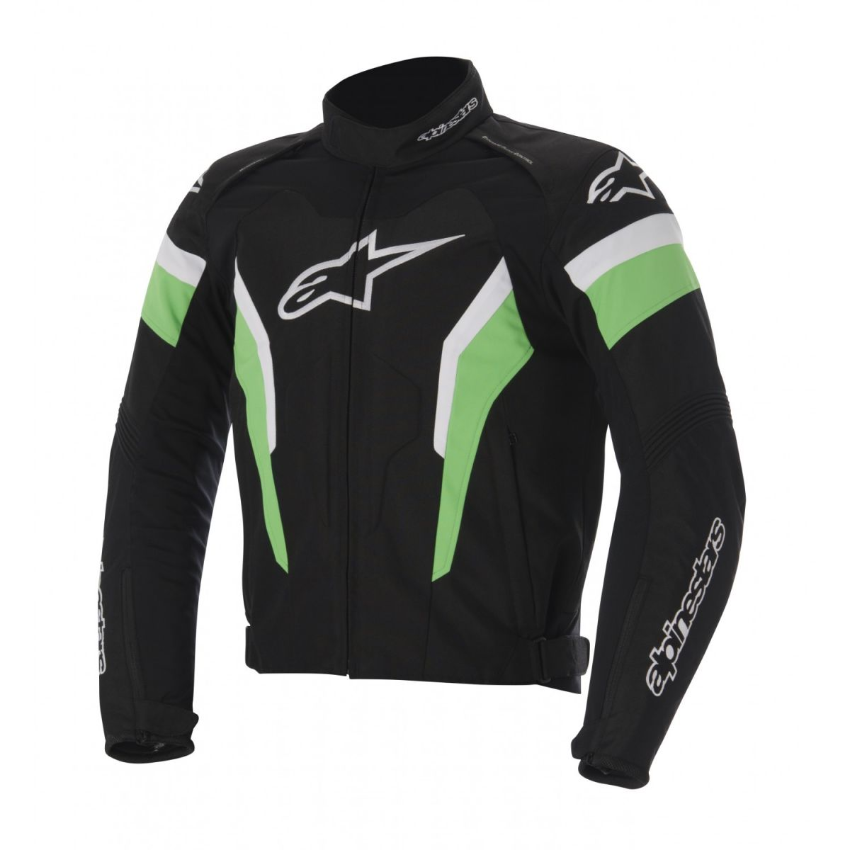 Jaqueta Alpinestars T GP Pro (Preta Verde)  - Super Bike - Loja Oficial Alpinestars