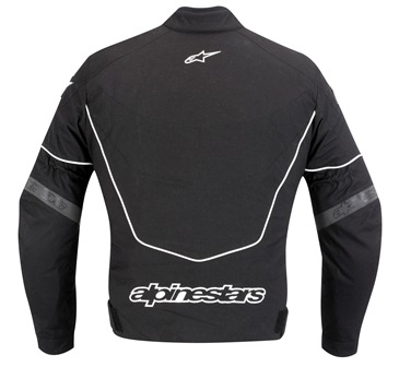 Jaqueta Alpinestars T GP R (Black White)  - Super Bike - Loja Oficial Alpinestars