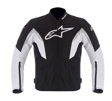 Jaqueta Alpinestars Viper Air Black White Ventilada  - Super Bike - Loja Oficial Alpinestars
