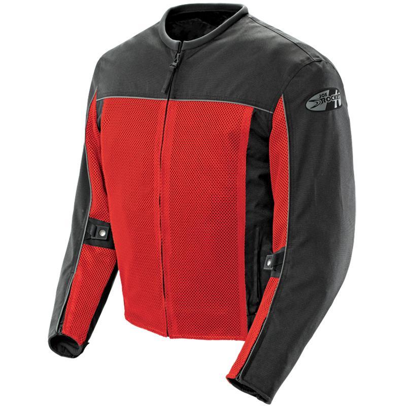 Jaqueta Joe Rocket Velocity Vermelha - Ventilada e Impermeável  - Super Bike - Loja Oficial Alpinestars