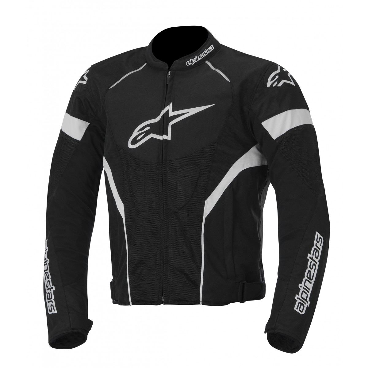 Jaqueta Alpinestars T GP Plus R Air (Preto Branco/ Ventilada)  - Super Bike - Loja Oficial Alpinestars