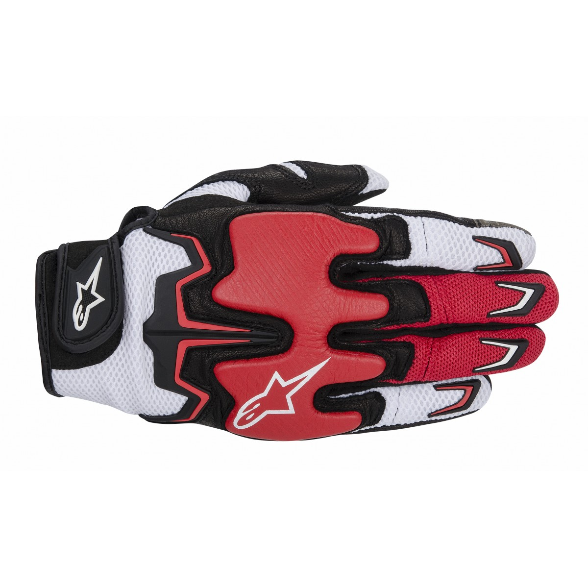 Luva Alpinestars Fighter Air Red  - Super Bike - Loja Oficial Alpinestars