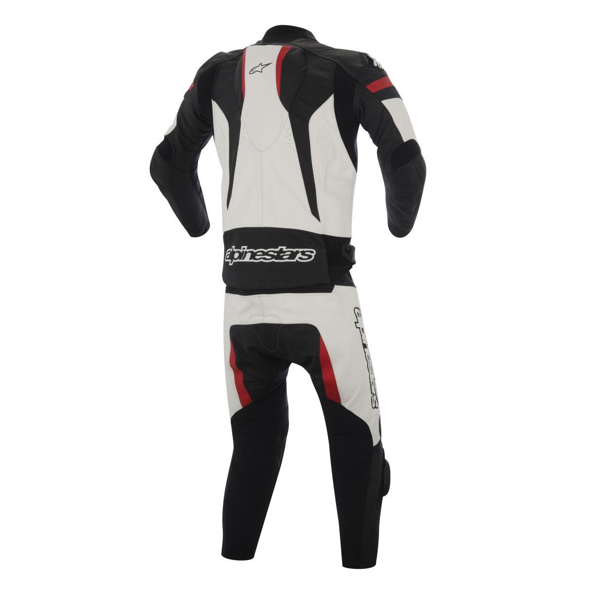 Macacão Alpinestars GP Pro - 2 pçs Tricolor vermelho  - Super Bike - Loja Oficial Alpinestars