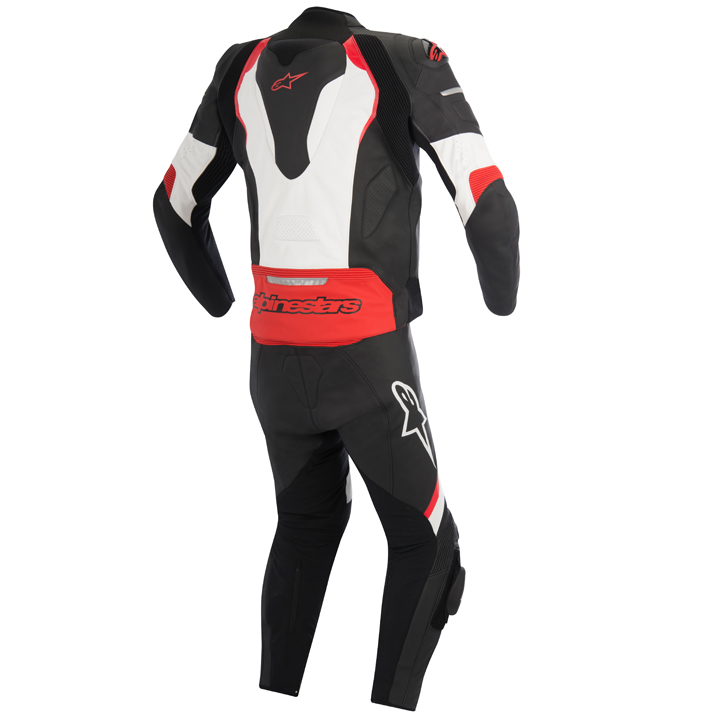 Macacão Alpinestars GP Pró Branco e Vermelho - 2 peças - Com Vídeo  - Super Bike - Loja Oficial Alpinestars