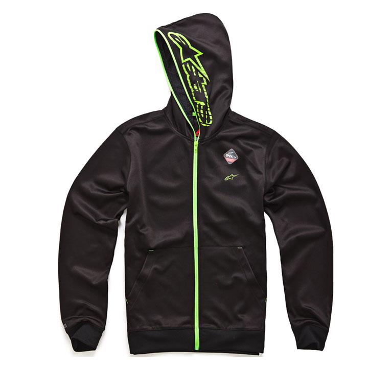 Moletom Alpinestars Freemont (Black/Green) Lançamento!!  - Super Bike - Loja Oficial Alpinestars