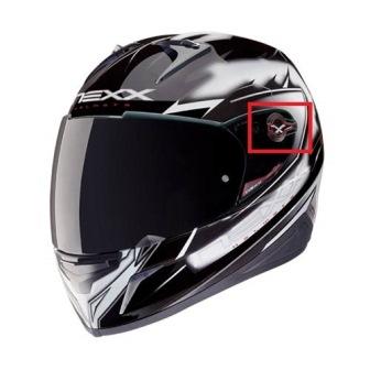 Kit Reparo e Presilha de Visera Nexx - trava - (XR1R NOVO)  - Super Bike - Loja Oficial Alpinestars
