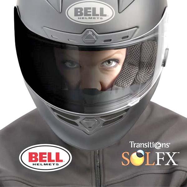 Viseira Bell Click Release Transitions para capacetes Qualifier e Star Carbon  - Super Bike - Loja Oficial Alpinestars