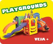 Completa Linha de Playgrounds da Xalingo