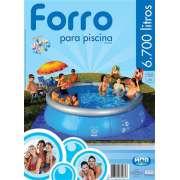 Forro para Piscina 6700 e 7800 L Splash Fun MOR - 3,70m Piso