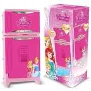 Refrigerador Disney Princesa com Som e Acessórios - Xalingo