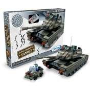 Bloco de Encaixe Tanque Defensiva Terrestre 577 peças - Xalingo