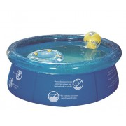 Piscina Splash Fun 1000 litros MOR 1,65m ø - Borda Inflável