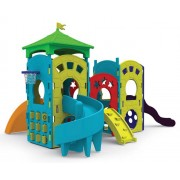 Playground Modular Future 5,80 x 3,90 x 3,09m - Xalingo