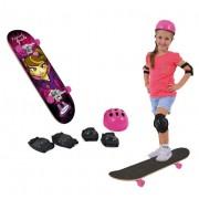 Skate Radical Girl Com Lixa e Acessórios - Xalingo