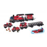 Bloco de Encaixe 5 em 1 Trem Expresso 320 peças - Xalingo