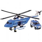 Bloco de Encaixe 5 em 1 Helicóptero 314 peças - Xalingo