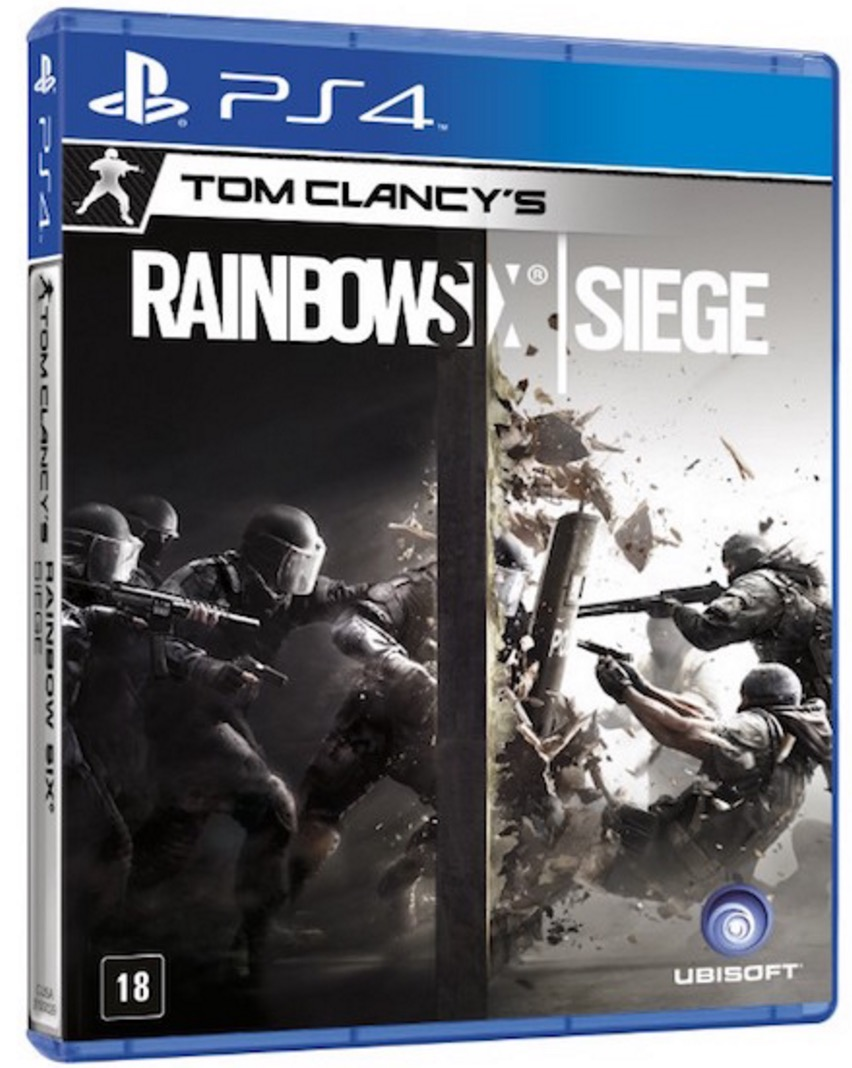 Tom Clancys Rainbow Six Siege - PS4  - FastGames - Gamers levados a s�rio
