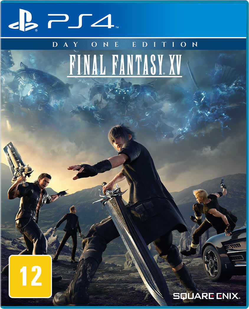 Final Fantasy XV - PS4 - FastGames - Gamers levados a sério