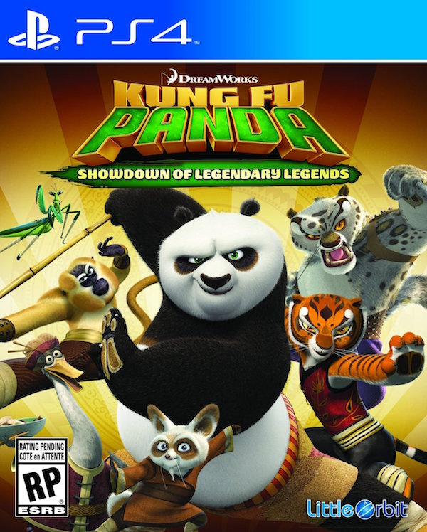 Kung Fu Panda: Showdown of Legendary Legends - PS4  - FastGames - Gamers levados a s�rio