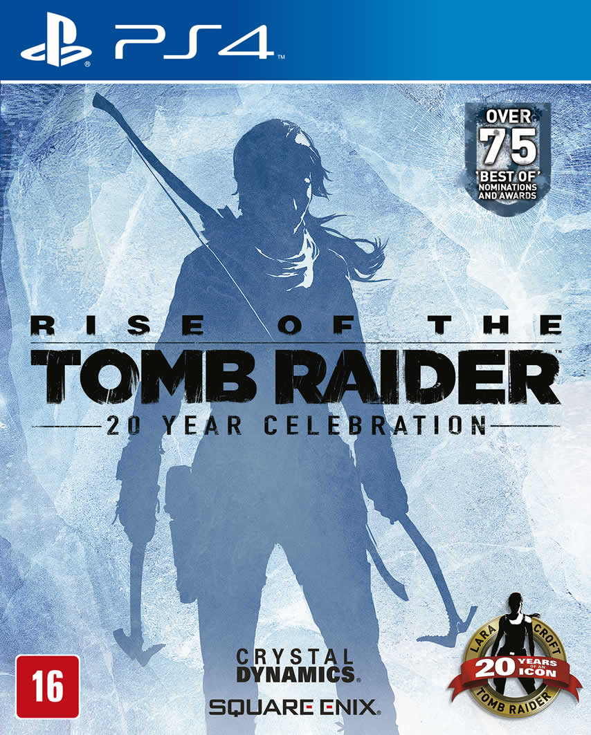 Rise of the Tomb Raider - PS4  - FastGames - Gamers levados a sério