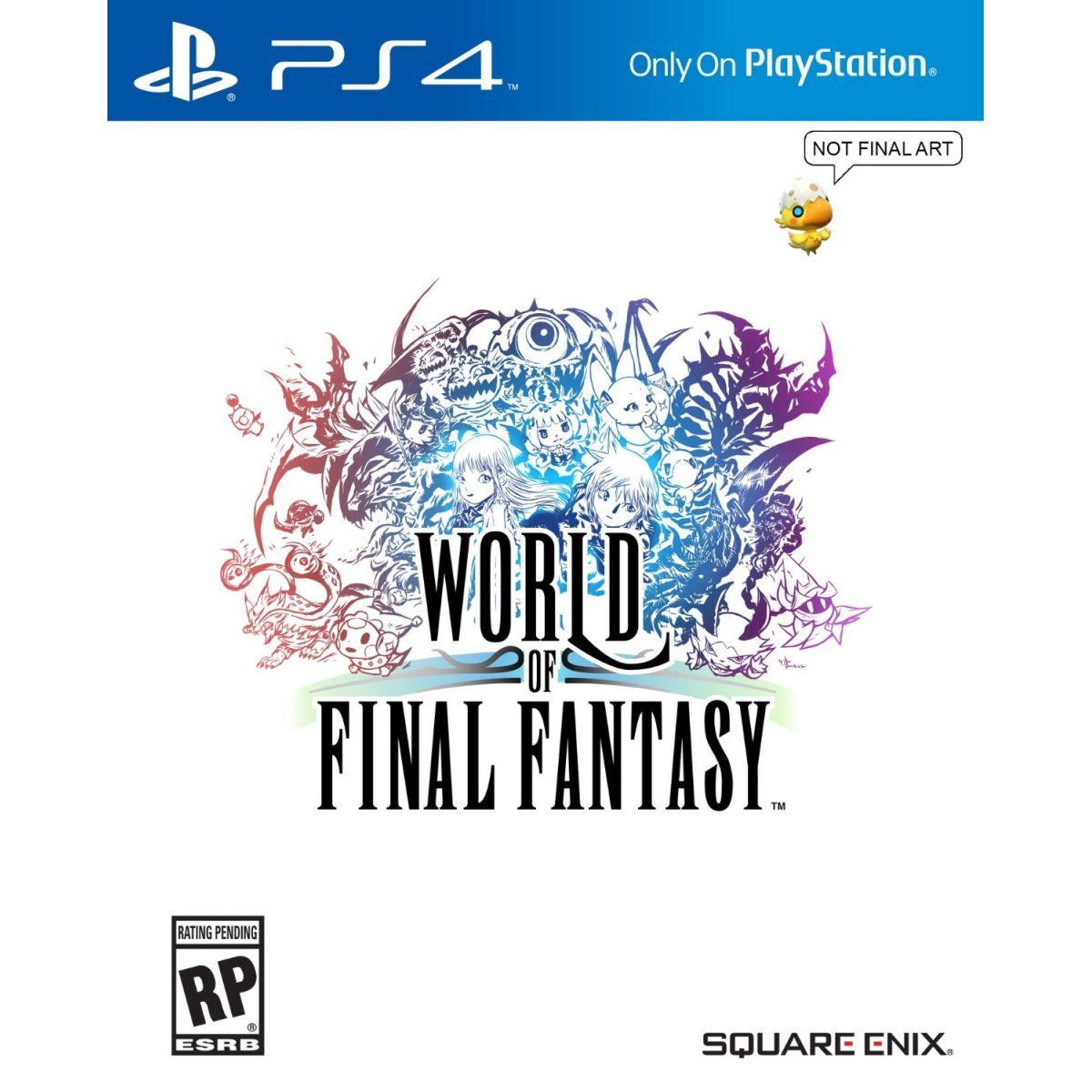 World of Final Fantasy (Pr�-venda) - PS4  - FastGames - Gamers levados a s�rio