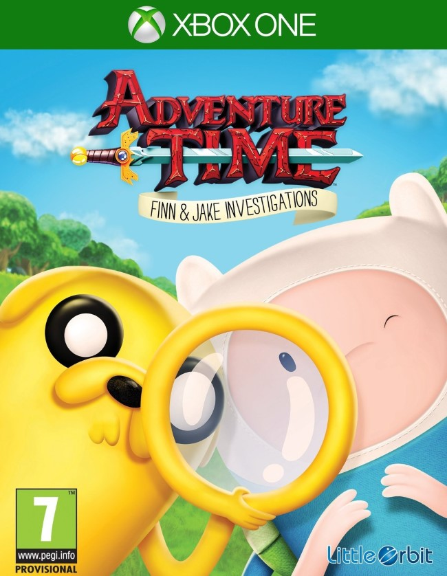 Adventure Time Finn and Jake Investigations - XBOX One  - FastGames - Gamers levados a s�rio